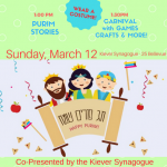 Purim for kids downtown Toronto