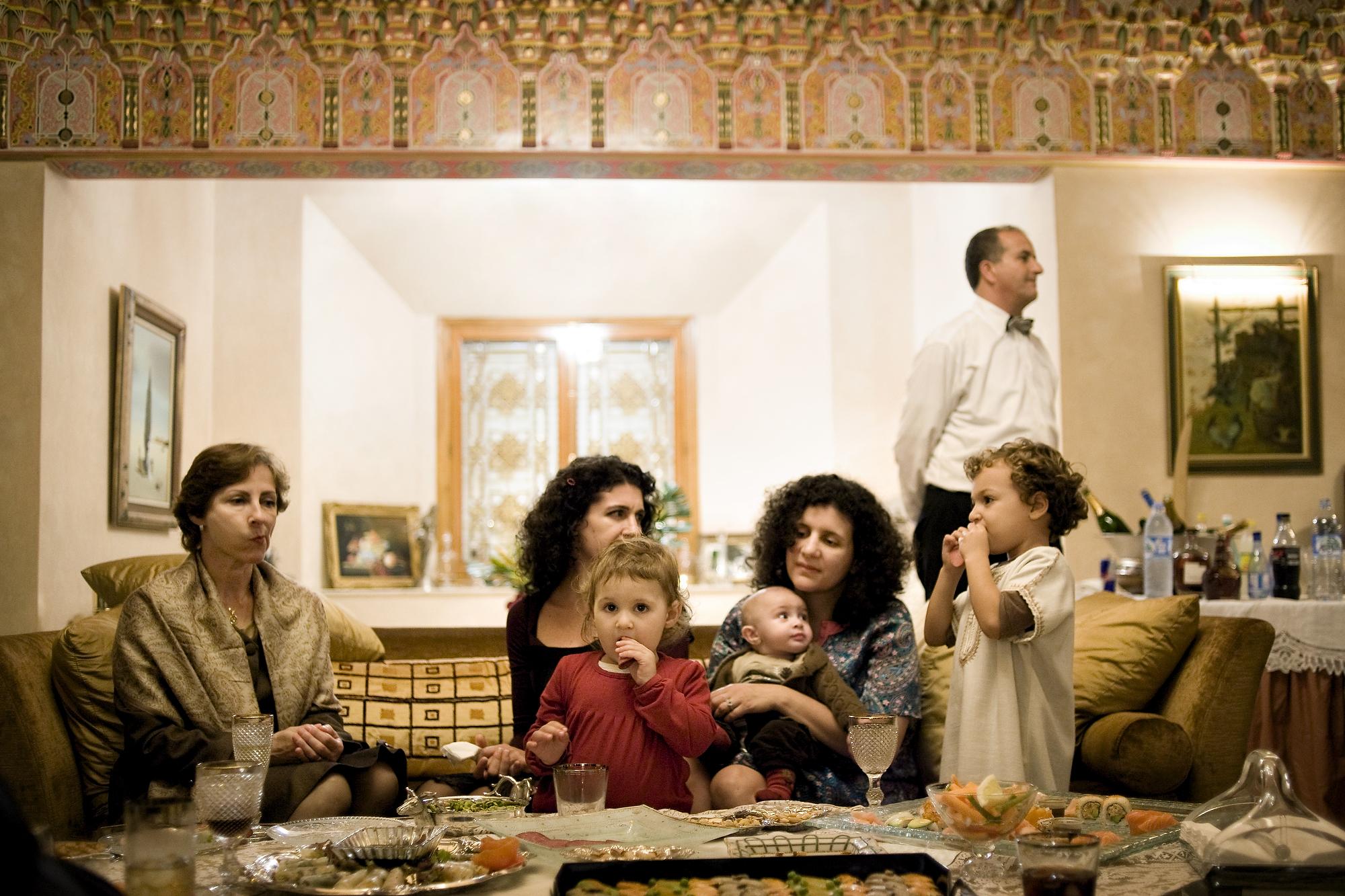 Aaron Vincent Elkaim, Mimouna in Casablanca, 2010